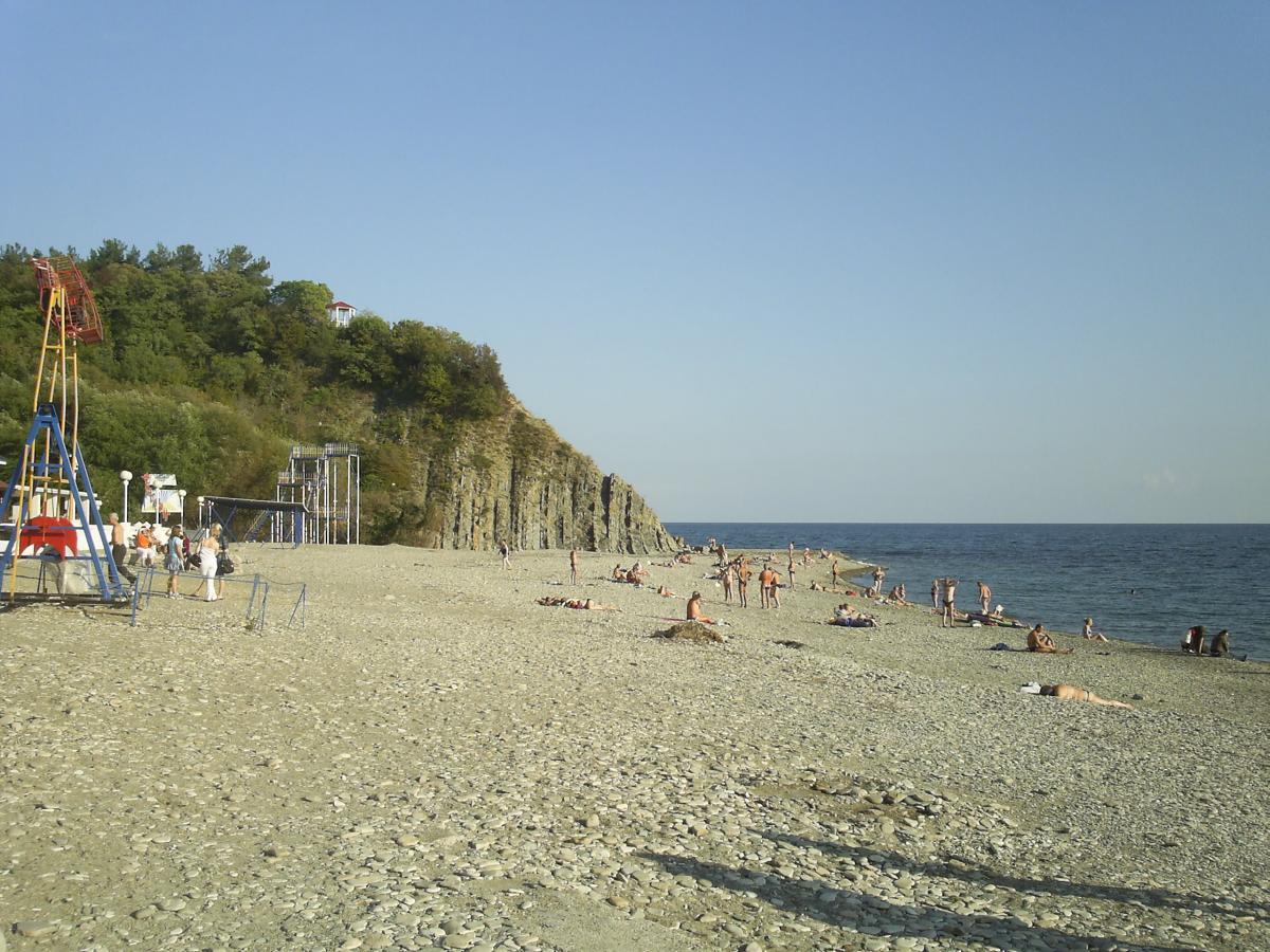 Бетта фото поселка и пляжа 2018