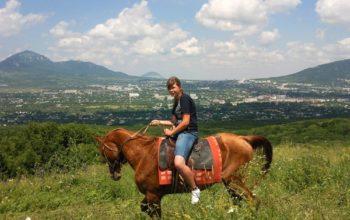 Кисловодск из Астрахани конные прогулки