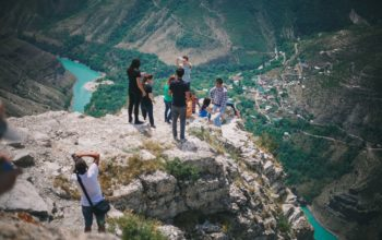 Сулакский каньон из Астрахани